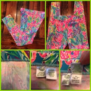 Lilly Pulitzer girls leggings